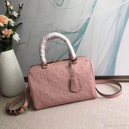 EPI en cuir véritable Speedy 25 Boston sac ACME MADE The Taie d'oreiller M44069 Monogrram épaule sacs à main Messenger sac sacs de voyage M42401 on Sale
