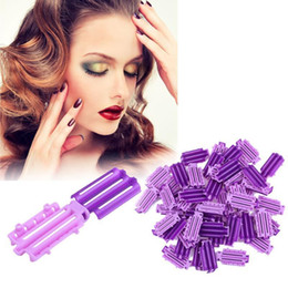 $enCountryForm.capitalKeyWord Australia - 45pcs bag Fluffy Hair Roots Perm Hair Styling Tools Roots Perm Bar Rods Rollers Curler Fluffy Clamps Rollers Make Diy Hair Tool