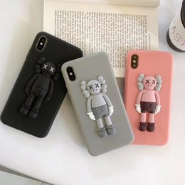 $enCountryForm.capitalKeyWord Australia - Fashion KAWS Toys Sesame Street 3D Soft Silicone Phone Cover Case For Iphone 6 6s 7 8 Plus X XS XR MAX Cartoon Cute Cases Back Coque