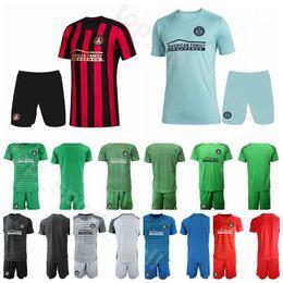 Soccer jerSey number kit online shopping - MLS Atlanta United FC Goalkeeper GK Brad Guzan Goalie Soccer Jersey Home Away Custom Name Number Football Shirt Kits Uniform
