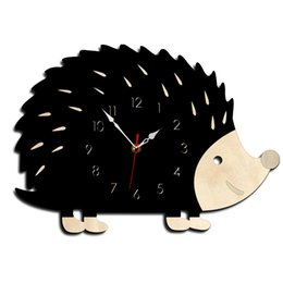 $enCountryForm.capitalKeyWord Australia - Cartoon Wall 3d Clock Living Room Wall Clock KidsWith Needle Acrylic Silent Nordicwall Wood Student Creative Gift