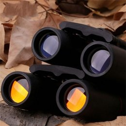 $enCountryForm.capitalKeyWord Australia - Pocket Double Cylinder Telescope Cherry Blossoms 30X60 Night Vision Binocle Portable Hot Sales Clear Wide Angle Distance 17ld C1