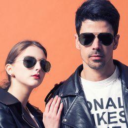 $enCountryForm.capitalKeyWord Australia - Pilot Style Sunglasses Brand Designer Sunglasses for Men Women Metal Frame Flash Mirror Glass Lens Fashion Sunglasses
