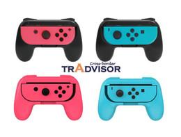 $enCountryForm.capitalKeyWord Australia - Joy-Con Grips for Nintendo Switch, Wear-resistant Joy-con Handle for Nintendo Switch, 2 Pack (4 colors, Black+Black,Red+Blue,Green+Green)