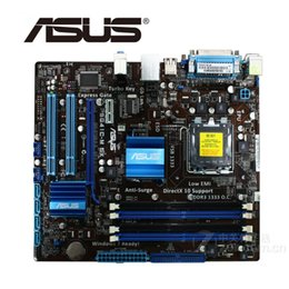 China LGA 775 ASUS P5G41C-M LX Motherboard 1066MHz DDR2 DDR3 8GB For Intel G41 P5G41CM LX Desktop Mainboard Systemboard SATA II Used cheap mainboard ddr2 asus suppliers