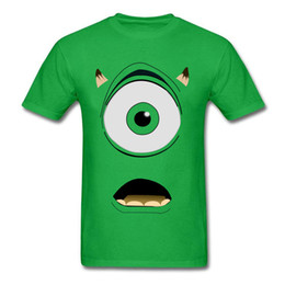 b40f8e267 T-shirt 2019 Funny Mens Tshirt Men Green Geek Monster Print T Shirt Swag  Hip Hop Streetwear Custom Cosplay Tee
