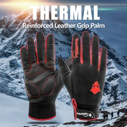 $enCountryForm.capitalKeyWord Australia - Winter& Autumn Outdoor Gloves Touch Screen Windproof Waterproof Full Finger Gloves for Skiing, Motorcycle, Bicycle