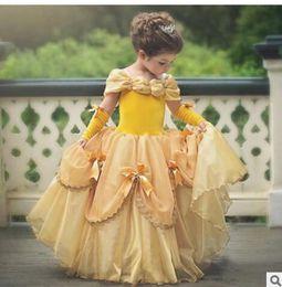 $enCountryForm.capitalKeyWord NZ - Dress For Girl Belle Costume Child Deguisement Elza Carnaval Christmas Kid Sling Bridesmaid Prom