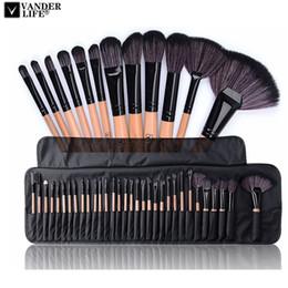 $enCountryForm.capitalKeyWord Australia - 32pcs Professional Makeup Brushes Set Make Up Powder Brush Pinceaux Maquillage Beauty Cosmetic Tools Kit Eyeshadow Lip Brush Bag