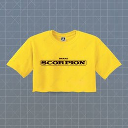 ce48aef869402c Drake Scorpion Crop T-shirt Tour Drizzy Hotline Tee More Life Ovo Bling  Cool Top Funny free shipping Unisex Casual Tshirt