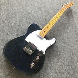 $enCountryForm.capitalKeyWord UK - Farmer custom shop Black TL electric guitar Night Starry Sky basswood body maple Fingerboard 22 Frets Free shipping