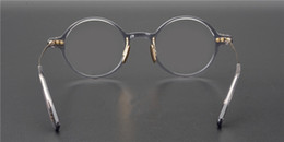 Old frames online shopping - High quality retro small circular frame ultra light limited edition of the Royal Style OG Library prescription lenses for old fashioned spec