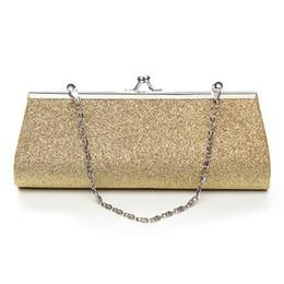 $enCountryForm.capitalKeyWord NZ - Gold Cheaper Crystal Rhinestones Women Evening Clutch Bag Bridal Wedding Clutches Party Dinner Prom Chain Shoulder Handbag Purse