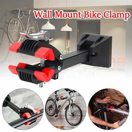 $enCountryForm.capitalKeyWord Australia - Wall Mount Heavy Duty Bike Bicycle Maintenance Mechanic Repair Cycling Folding Clamp MTB Wall Mount Repair Stand Rack Hanger #671908