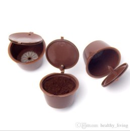 Filter Boxes Australia - Coffee filter mesh nestle-filled capsule capsule shell can be reused compatible