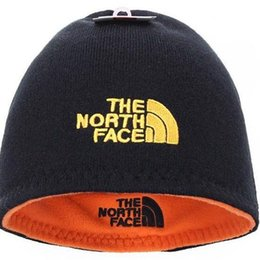 Boys Ear Muffs UK - high quality NF Hat The North Reversible Beanie Winter  warm Men 487fb5026b32