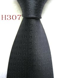 Beige Silk Tie Australia - Classical 100% JACQUARD WOVEN HANDMADE Mens Design Perfect BlackWhite  Red Gray Brown Multi color Style Men silk Tie Necktie #h305-334