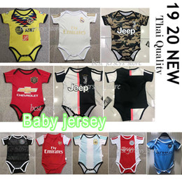 Shirt Soccer jerSeyS online shopping - Ajax The latest baby Juventus Argentina jersey Real Madrid MBAPPE baby jersey Madrid months baby shirt