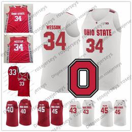 a1c1d6c77 ohio state buckeyes jerseys 2019 - NCAA Ohio State Buckeyes  34 Kaleb  Wesson 24 Andre