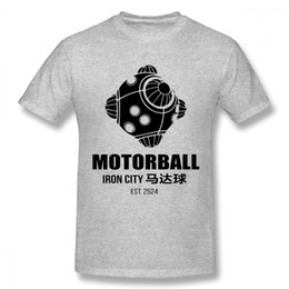 1e59b984e T-shirt For Male Motorball Iron City's Favourite Sport inspired By Alita T  shirt Graphic Print Tee Men Classic Custom Camiseta