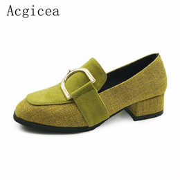 $enCountryForm.capitalKeyWord NZ - Dress Shoes 2019 New Spring Women Pumps 3.5cm Low Heels Formal Dress Woman New Trend Style Office Comfortable Hot Footwear for Female