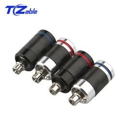 Speaker Jack Connector Australia - 1pair Earphone Plug Adapter For MMCX se425 se535 se846or se215 se315 Carbon Fiber Audio Jack HIFI Speaker Connector Solder AUX Plug