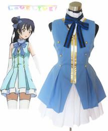 Wholesale sky cosplay resale online - Love Live Start dash Sonoda Umi Sky Blue Lolita Dress Cosplay