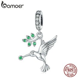 925 Silver Animal Series Monkey Fish Fox Deer Charm Pendant For Women Bracelet Diy Jewelry Beads