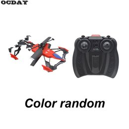 $enCountryForm.capitalKeyWord UK - Multifunction Mini Drone 2CH Air-Ground RC Flying Car Dual Mode Air Remote Control Helicopter Quadcopter Drone Toys For Children