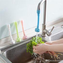 Kitchen Thermostat Australia - Practical kitchen shower nozzle Rotary anti splash tap water valve mouth filter economizer kitchen water-saving device IB674