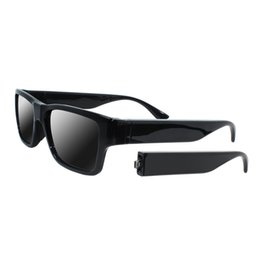 Camera pC video wireless online shopping - Smart Glasses Camera Wireless Remote Control Eyewear Sunglasses Touch Video Recorder HD P Mini DVR Built in GB with Battery Arms
