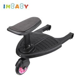 step pedal Australia - IMBABY Baby Stroller Step Board Second Child Auxiliary Trailer Artifact Stroller Pedal Scooter Baby Car Accessorie