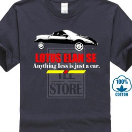 Wholesale 1989 Lotus Elan Se B And W Anything Less Is Just A Car Fan T Shirt