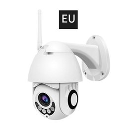 onvif wifi camera audio Canada - 1080P H.265 Speed Dome Outdoor WiFi Wireless Pan Tilt IP Camera 2 Way Audio SD Card IRVision IP ONVIF Video Surveillance