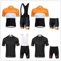mens lycra cycling shorts Australia - 2019 STRAVA PRO TEAM cycling jersey (bib) shorts suit Ropa Ciclismo mens summer quick dry BICYCLING Maillot wear