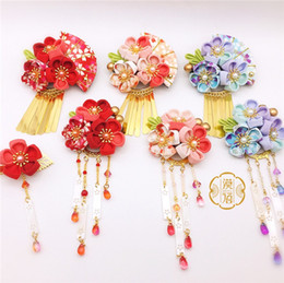 Discount ancient chinese headdress - Traditional classical Chinese style Hair Accessories Applicable to ancient style Hanfu kimono photo photography bridal H