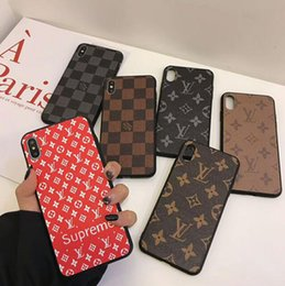 Discount max print - Printed letter phone case cover for iphone Xs max Xr X 7 7plus 8 8plus 6 6plus X hard back cover