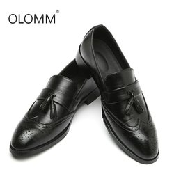$enCountryForm.capitalKeyWord NZ - Leather Shoes Fashion Brock Men's Shoes Large Size Mens Men Dress Leather Zapatos De Hombre Dress Men