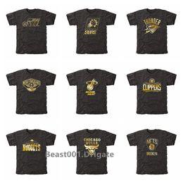 $enCountryForm.capitalKeyWord Australia - Men Jazz Suns LA Clippers Nuggets Bulls Nets Gold Collection Tri-Blend T-Shirt Black