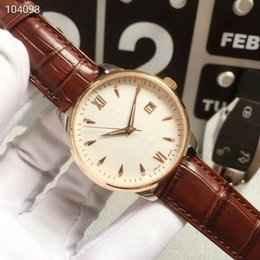 Three Pin Australia - 2019 hot factory men's watch leather strap professional diver big three-pin watch best version speed automatic movement sapphire glass watch