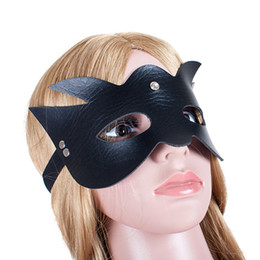 $enCountryForm.capitalKeyWord Australia - Catwoman Deluxe Black Eye Mask Robber Bandit Sexy Superhero Carnival Eye Mask Fancy Dress Accessory YZ0068