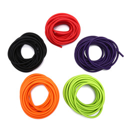 slingshot rubber replacement NZ - Outdoor Natural Latex Rubber Tube Stretch Elastic Slingshot Replacement Band Catapults Sling Rubber
