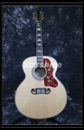 Grover Guitar NZ - Starshine Acoustic Guitar ZZF-J200N Jumbo 43 Solid Spruce Top,Backside Flamed Maple,Bone Nut Grover Tuner Fishman 101