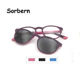$enCountryForm.capitalKeyWord UK - Ultralight Round Ultem Kids Sunglasses Boys Polarized Magnetic Sun Glasses Clip On Lens For Girls Students Eyewear Vintage Glass