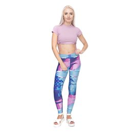 fitness girls leggings NZ - Lady Leggings Litch Smoker 3D Digital Full Printed Fitness Yoga Wear Pants Girls Casual Trousers Woman Elastic Waist Band Jeggings (Y52031)