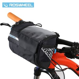 $enCountryForm.capitalKeyWord UK - ROSWHEEL 3L Bicycle Handlebar Bag MTB Road Cycling Front bar Pannier Pouch 400D PVC Map Bags Basket Bike Accessories 111271 #148541