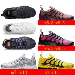 $enCountryForm.capitalKeyWord Australia - 2019 Cushion VPM TN Plus Running Shoes White Triple Black Sunset Grape In USA Red Rainbow Silver Mens Womens Sports kids designer sneakers