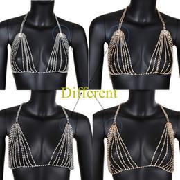 $enCountryForm.capitalKeyWord Australia - Crystal Bra Jewelry Women Charming Wholesale Rhinestone lingerie Body Chain for Party Beach Swim Festival jewellery JCK024