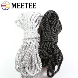 $enCountryForm.capitalKeyWord Australia - 20m 4 5 6mm 3 Shares Twisted Cotton Nylon Cords DIY Craft Braided Decoration Ropes Drawstring Gift Box Wrapping Belt Accessories