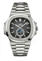 $enCountryForm.capitalKeyWord Australia - 2019Top Quality Watches Nautilus 5726 1A-001 Mechanical Automatic Men Watch Moon Phase Sapphire Stainless Steel Wristwatches 40.5mm